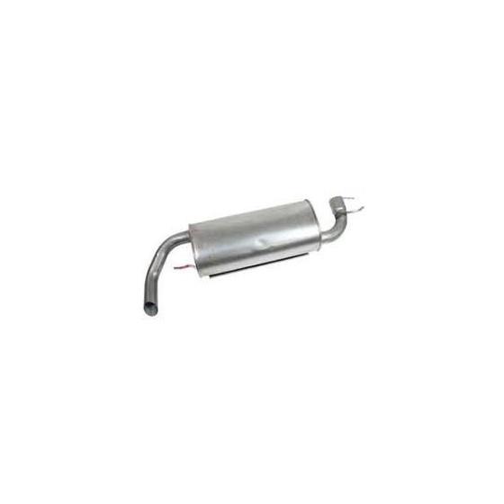 Bakre lyddemper diesel