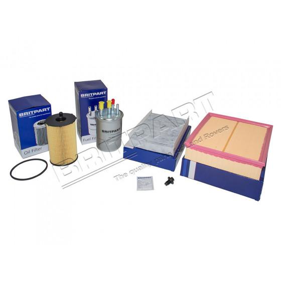 Filter kit Tdv6 opptil 2006