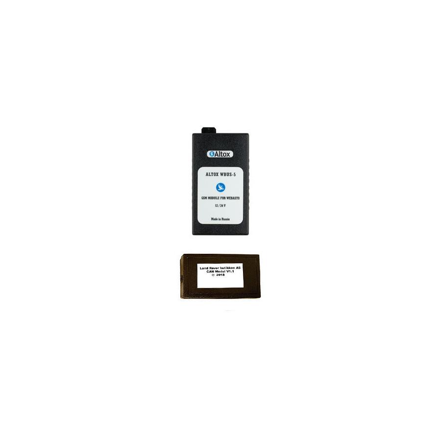 Altox GSM & CAN vifte og spjellstyring