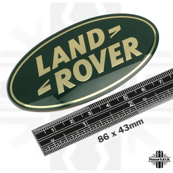 LR logo til D4 type grille